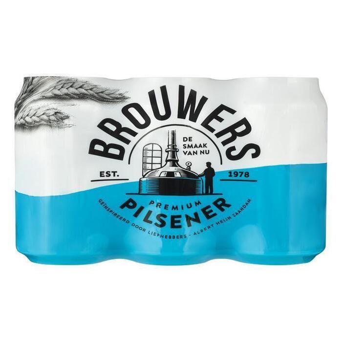 Brouwers Pilsener (6 × 33cl)