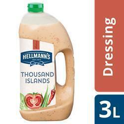Hellmann's Dressing 1000 Islands 3L 4X (4 × 3L)