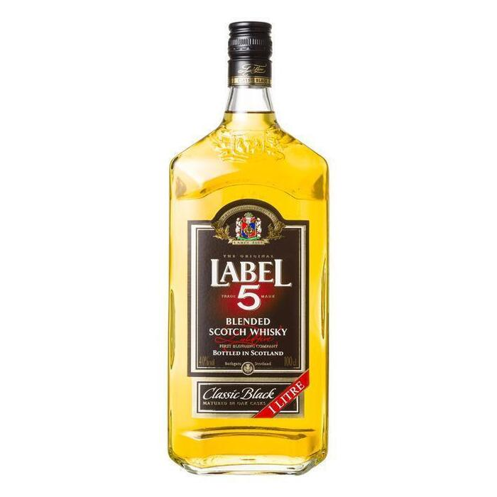 Label 5 Blended Scotch Whisky 100cl (rol, 100 × 1L)