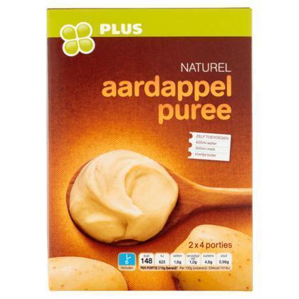 Aardappel puree naturel (doos, 270g)