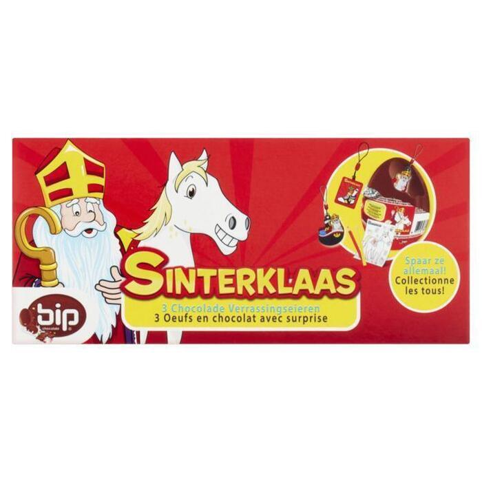 Sint en Piet Sint en piet chocolade eieren (3 × 20g)
