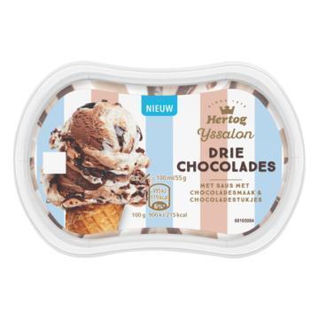 Hertog IJs chocolade momentje (110g)