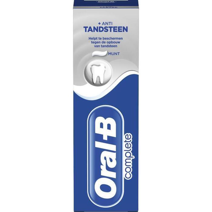 Oral-B Complete Plus Anti Tandsteen Tandpasta 75 ml (75ml)