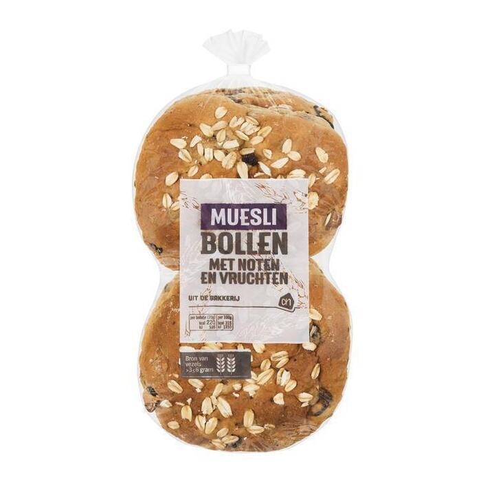 Muesli broodjes (zak, 280g)