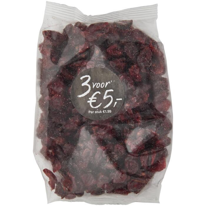 Gedroogde cranberries (185g)