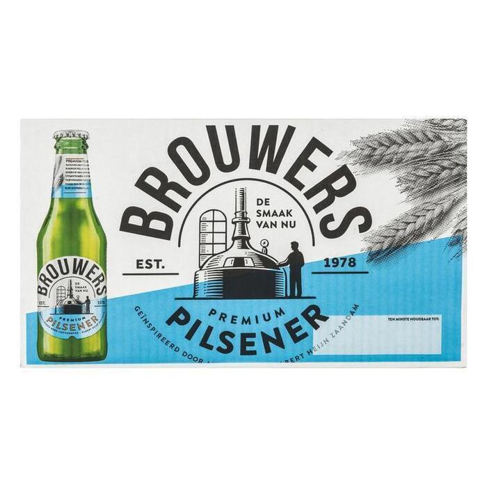 Brouwers Pilsener (24 × 250ml)