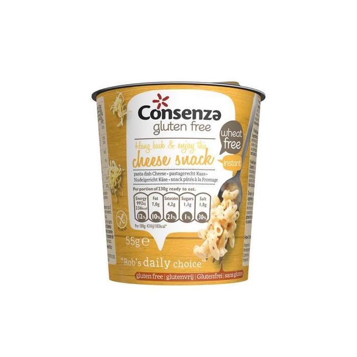 Consenza Instant macaroni met kaas (55g)