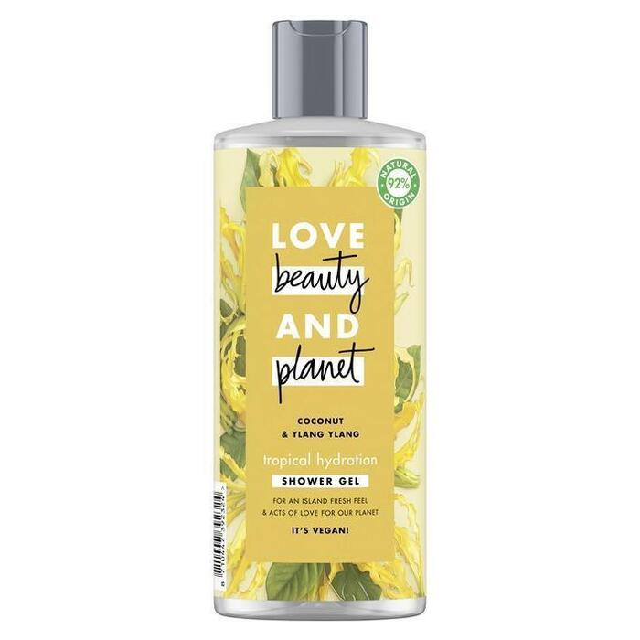 Love Beauty Planet Coconut oil & ylang ylang showergel (0.5L)