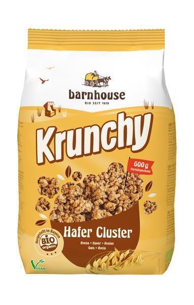krunchy hafer cluster (zak, 600g)