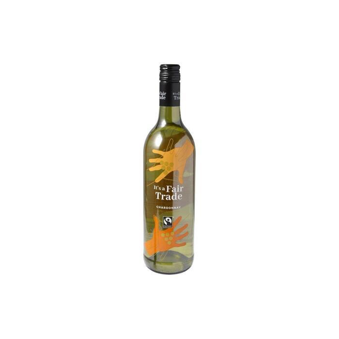 It's a Fair Trade Chardonnay (0.75L)