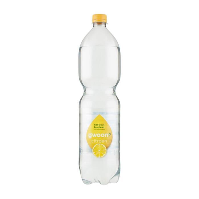g'woon Mineraalwater koolzuurhoudend citroen (1.5L)