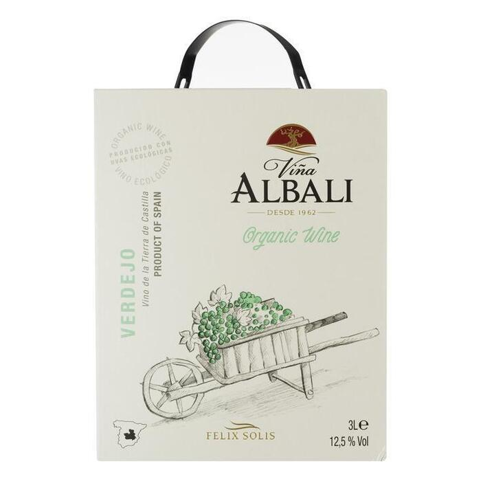 Vina Albali Wit Biologisch (3L)