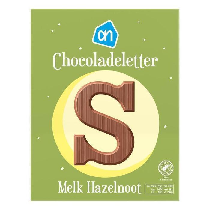 AH Chocoladeletter melk hazelnoot (135g)