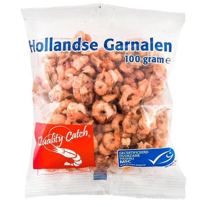 Hollandse garnalen (zak, 100g)