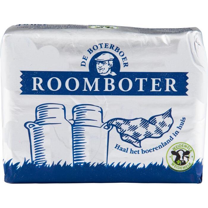 Roomboter zilverwikkel ongezouten (250g)