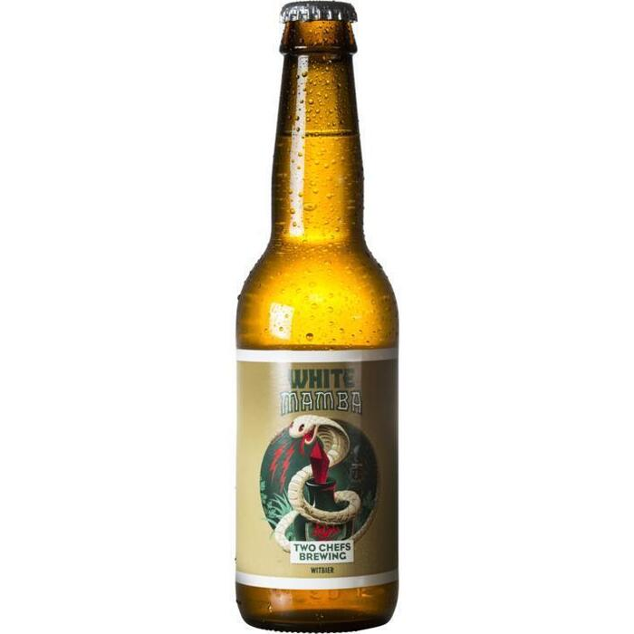 Two Chefs Brewing White Mamba Wit Fles 33cl (rol, 33 × 33cl)
