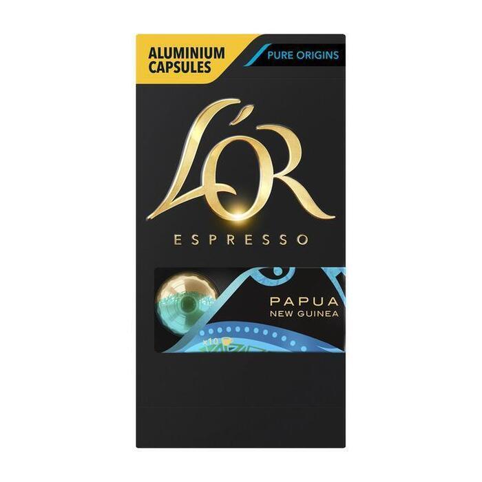 Espresso capsules papua new guinea (52g)