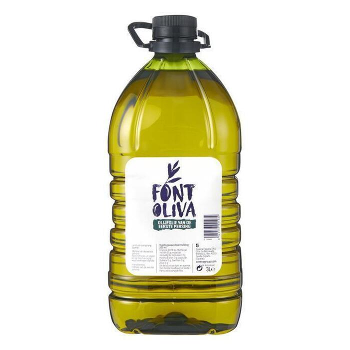 Olijfolie extra vierge (plastic fles, 3L)