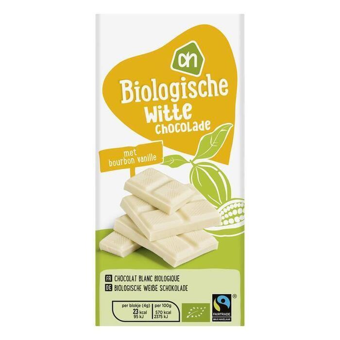 Biologisch Witte chocolade (reep, 100g)
