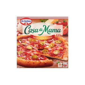 Casa di Mama Salame Extra Piccante (Stuk, 415g)