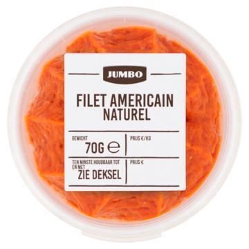 Jumbo Filet Americain Naturel 70g (70g)