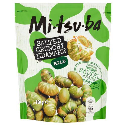 Mitsuba Salted Crunchy Edamame Mild 150 g (150g)