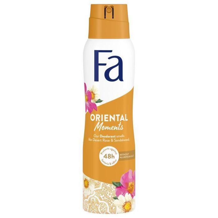 Fa Oriental moments desert rose spray (150ml)