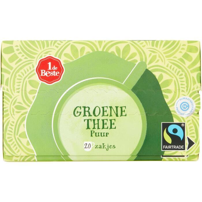 Groene thee puur kop 20 zakjes (30g)