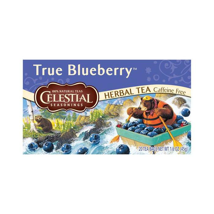 True Blueberry infusion (zakjes, 20 × 45g)