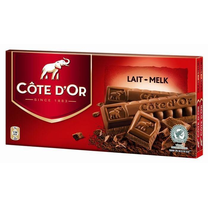 Cöte d'Or Tablet melk (2 × 200g)
