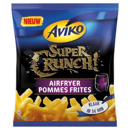 SuperCrunch airfryer pommes frites (Stuk, 750g)