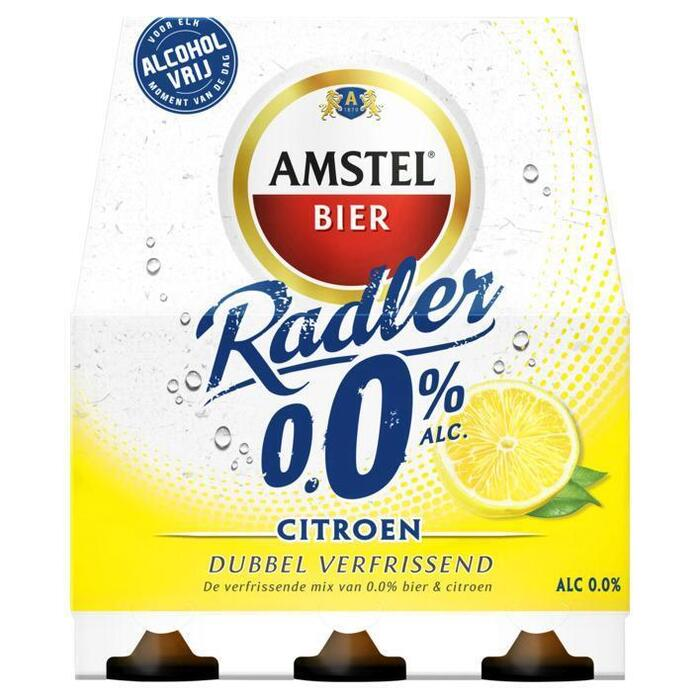 Radler 0.0 Bier Citroen Fles 30 cl (rol, 6 × 30cl)