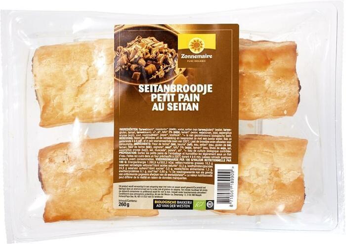 Seitanbroodjes (zak, 4 stuks) (4 × 320g)
