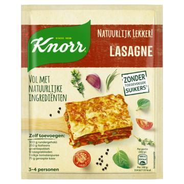 Knorr Natuurlijk lekker lasagne (43g)