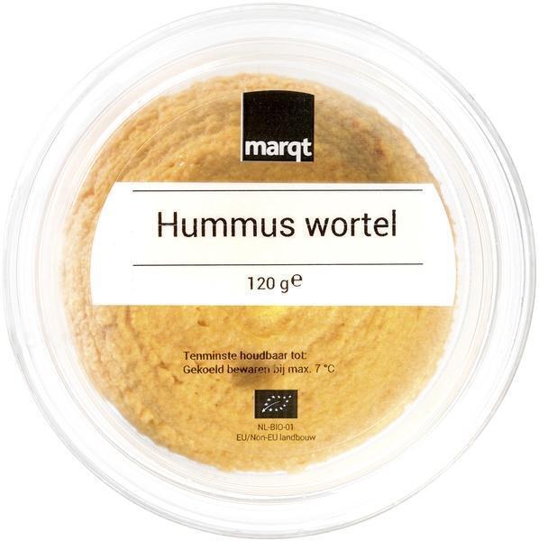 Wortel hummus (120g)