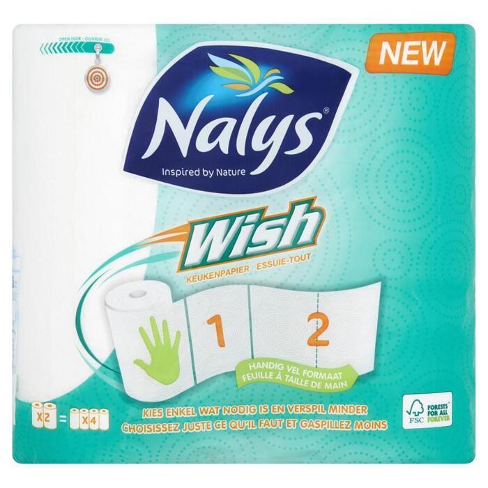 Nalys Wish keukenpapier (rol)