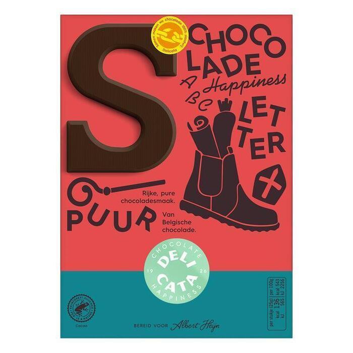 Chocoladeletter Puur (r, 90g)