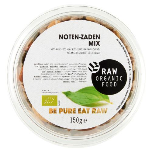Raw Organic Food Noten zadenmix bio (150g)