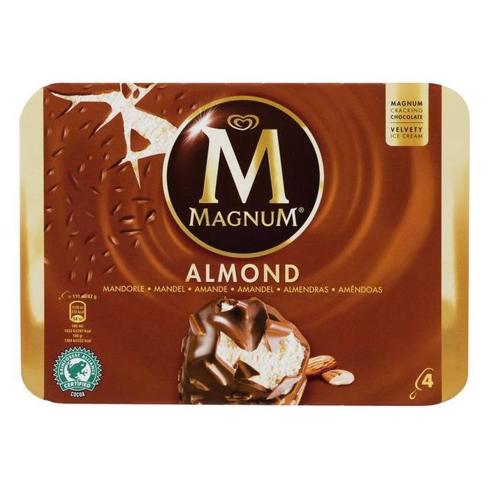 Magnum Almond (Stuk, 4 × 44cl)
