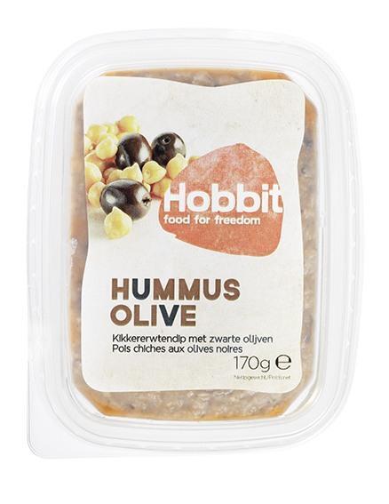 Hummus-olijf sandwichspread (170g)