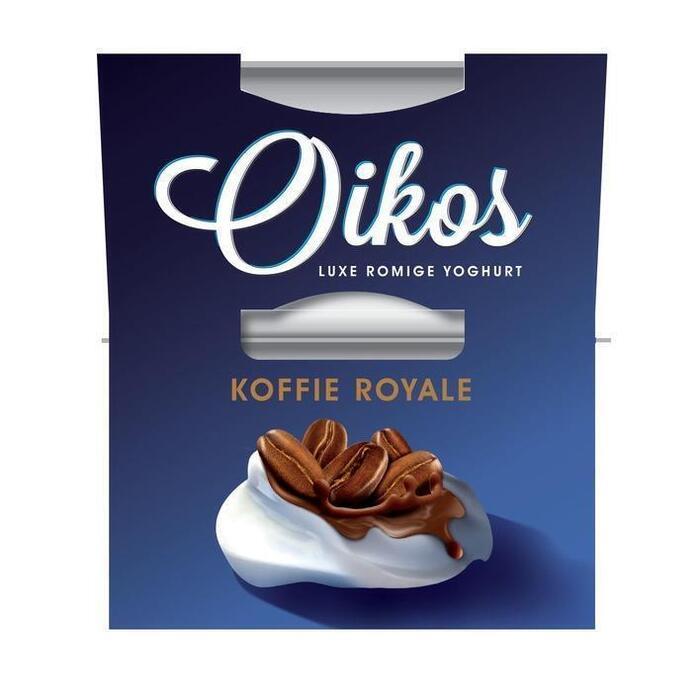 Oikos Yoghurt Koffie Royale 2 x 115 g (230g)