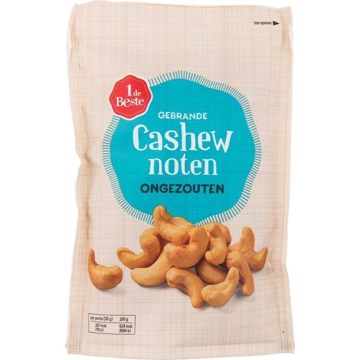 1 DE BESTE cashew noten ongezouten 150 gram (150g)