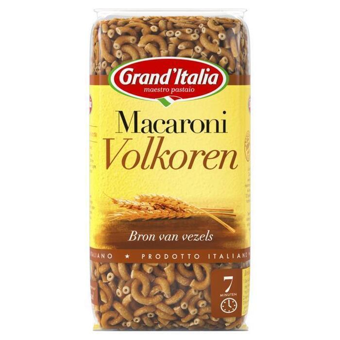 Grand'Italia Pasta Macaroni Integrali 500 g Zak (500g)