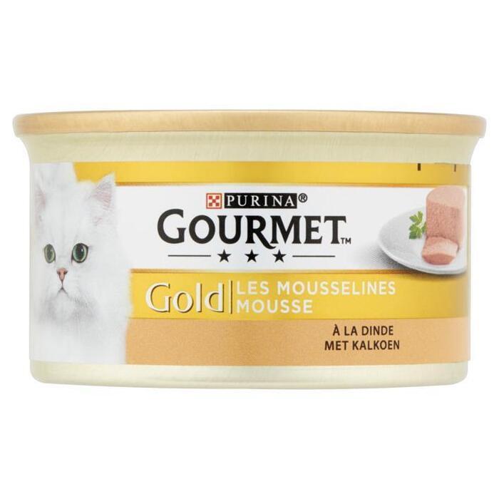 Gourmet Gold mousse met kalkoen (85g)