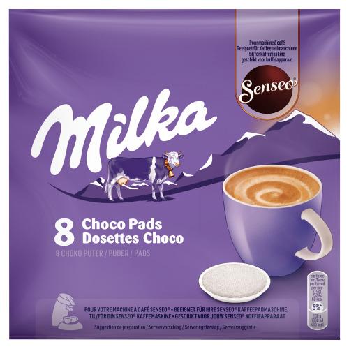 SENSEO MILKA CHOCO PADS 112G 8P BAG (8 × 112g)
