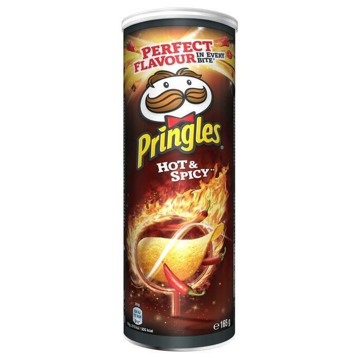 Hot Spicy Pringles (pot, 165g)