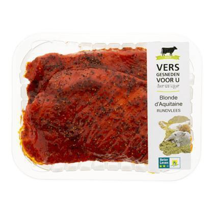 Beter leven rundersteak peper 2st (250g)
