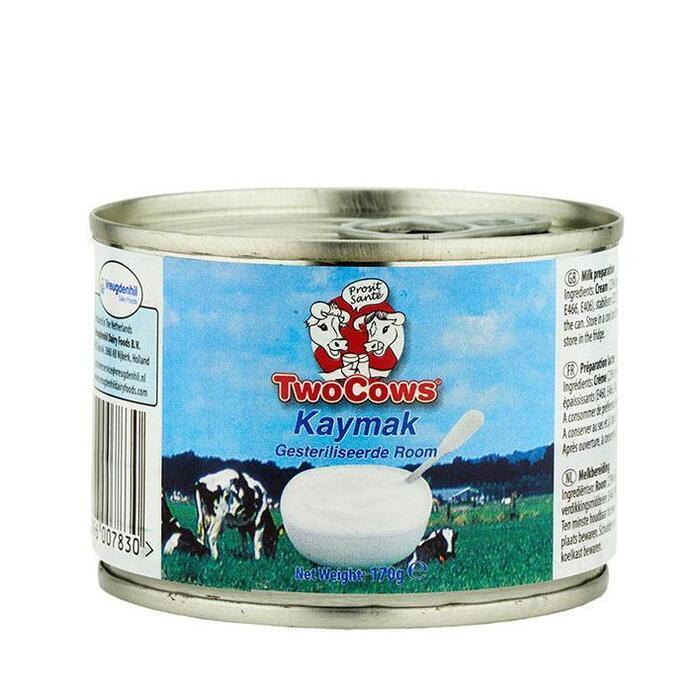 Two cows Kaymak gesteriliseerde room (170g)