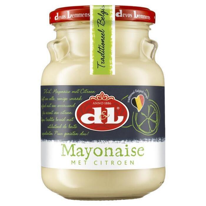 Devos Lemmens Mayonaise met citroen (35cl)
