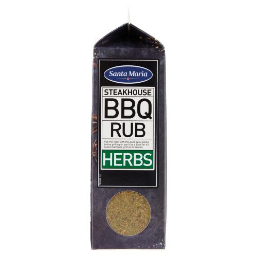 Santa Maria Steakhouse BBQ Rub Herbs 580 g (580g)